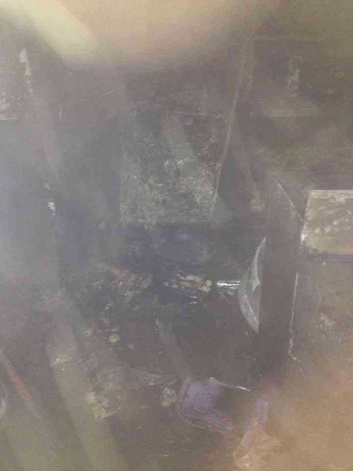 Chifa incendiado en la plaza San Francisco Cusco