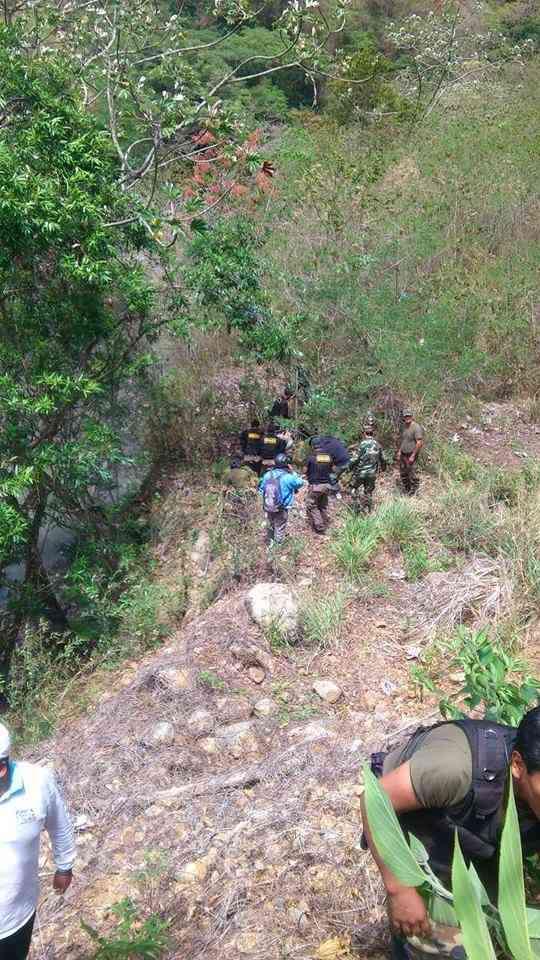 Rescate del Alcalde Rosalio Sanchez