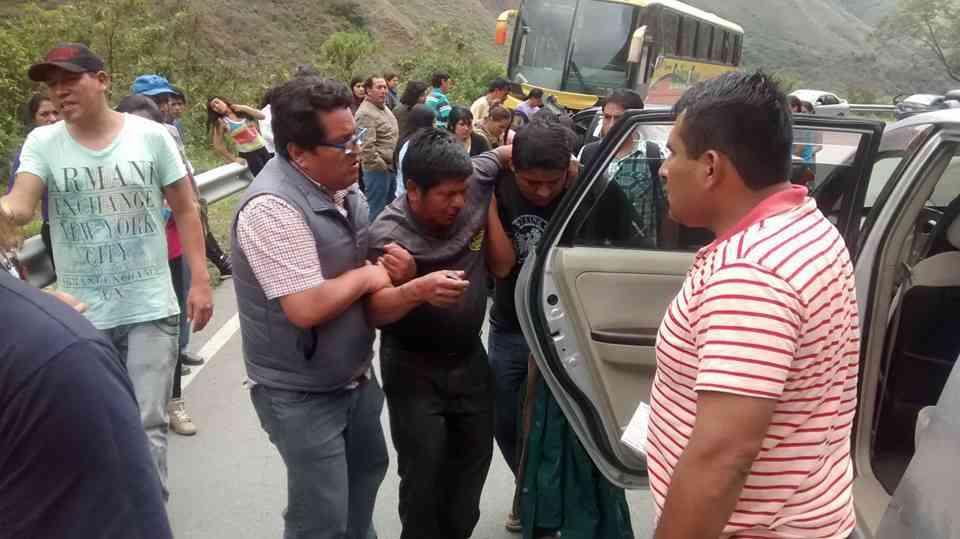 Accidente Ruta Cusco Quillabamba