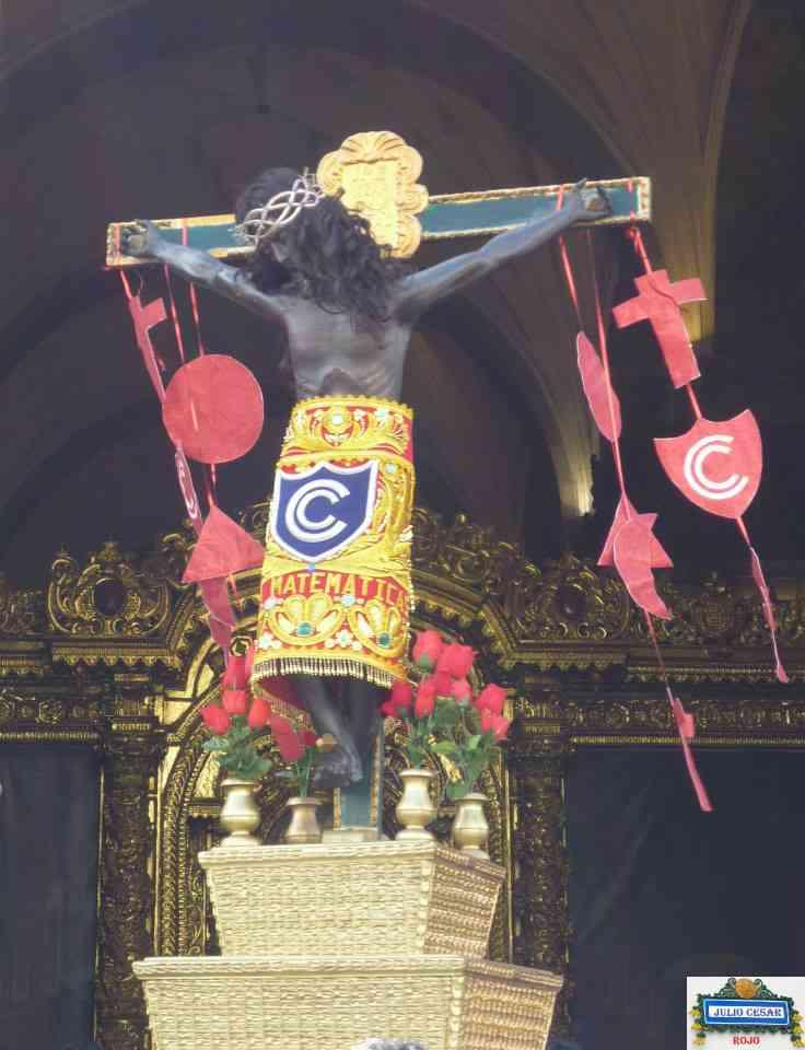Imagen procesional del Señor de los Temblores del Glorioso Colegio Nacional de Ciencias del Cusco, Patrono de la Hermandad del Taytacha de los Temblores del Colegio Ciencias del Cusco