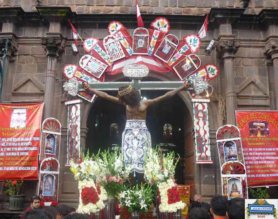 El Señor del Consuelo y Las Puertas Especiales de los Franciscanos