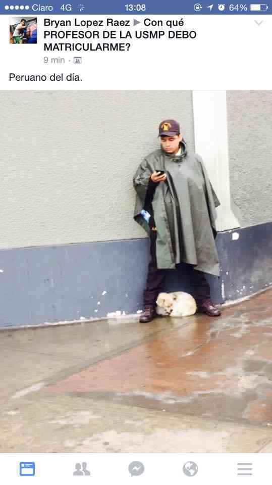 El peruano del dia